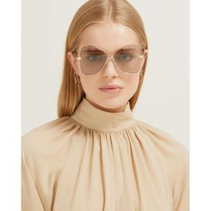 KAREN WALKER Queen 60mm Butterfly Sunglasses